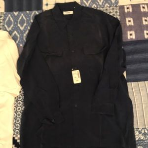 Equipment silk shirt